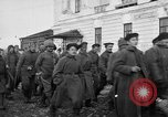 Image of Bolshevik prisoners Archangel Russia, 1918, second 11 stock footage video 65675053038
