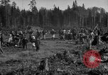 Image of Russians Archangel Russia, 1918, second 4 stock footage video 65675053040