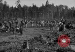 Image of Russians Archangel Russia, 1918, second 5 stock footage video 65675053040