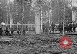 Image of American 339th Infantry Regiment Archangel Russia, 1918, second 5 stock footage video 65675053049