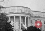 Image of White House lawn Washington DC USA, 1921, second 1 stock footage video 65675053053