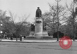 Image of Lafayette Statue Washington DC USA, 1921, second 6 stock footage video 65675053056