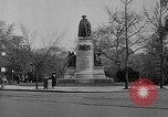 Image of Lafayette Statue Washington DC USA, 1921, second 9 stock footage video 65675053056