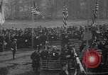 Image of unveiling statue of Jeanne d'Arc Washington DC Meridian Hill Park, 1922, second 8 stock footage video 65675053057