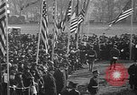 Image of unveiling statue of Jeanne d'Arc Washington DC Meridian Hill Park, 1922, second 12 stock footage video 65675053057