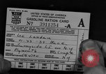 Image of gas rations and World War 2 rationing United States USA, 1942, second 2 stock footage video 65675053063