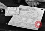 Image of gas rations and World War 2 rationing United States USA, 1942, second 7 stock footage video 65675053063