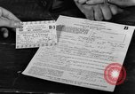 Image of gas rations and World War 2 rationing United States USA, 1942, second 12 stock footage video 65675053063