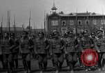 Image of military parade in town Russia, 1916, second 7 stock footage video 65675053078