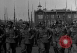 Image of military parade in town Russia, 1916, second 9 stock footage video 65675053078