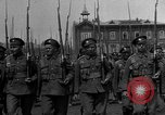 Image of military parade in town Russia, 1916, second 10 stock footage video 65675053078