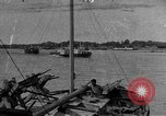 Image of boats on river Russia, 1916, second 1 stock footage video 65675053081