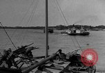 Image of boats on river Russia, 1916, second 4 stock footage video 65675053081