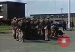 Image of British and United States Army Air Force personnel United Kingdom, 1942, second 12 stock footage video 65675053115