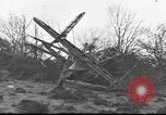 Image of wreckage of planes Petersfield Hampshire United Kingdom, 1936, second 2 stock footage video 65675053127