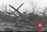 Image of wreckage of planes Petersfield Hampshire United Kingdom, 1936, second 4 stock footage video 65675053127