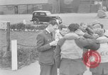 Image of RAF pilots briefing in Battle of Britain United Kingdom, 1940, second 8 stock footage video 65675053160