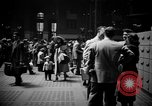 Image of Pennsylvania Railroad Station New York City USA, 1940, second 11 stock footage video 65675053166