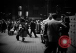 Image of Pennsylvania Railroad Station New York City USA, 1940, second 12 stock footage video 65675053166