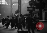 Image of Pennsylvania Railroad Station New York United States USA, 1940, second 4 stock footage video 65675053169