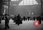 Image of Pennsylvania Railroad Station New York United States USA, 1940, second 10 stock footage video 65675053169