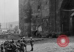 Image of Old Turkish gate and minarets Erzurum Turkey, 1919, second 4 stock footage video 65675053208