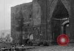 Image of Old Turkish gate and minarets Erzurum Turkey, 1919, second 6 stock footage video 65675053208