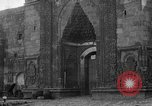 Image of Old Turkish gate and minarets Erzurum Turkey, 1919, second 10 stock footage video 65675053208