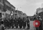 Image of Armenian troops parade Kars Armenia, 1919, second 4 stock footage video 65675053209