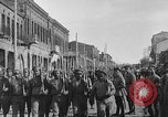 Image of Armenian troops parade Kars Armenia, 1919, second 6 stock footage video 65675053209