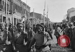 Image of Armenian troops parade Kars Armenia, 1919, second 8 stock footage video 65675053209