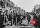 Image of Armenian troops parade Kars Armenia, 1919, second 12 stock footage video 65675053209