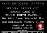 Image of memorial to Edith Cavell Brussels Belgium, 1920, second 1 stock footage video 65675053216