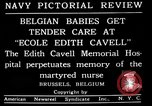 Image of memorial to Edith Cavell Brussels Belgium, 1920, second 7 stock footage video 65675053216