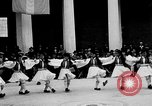 Image of Dancers and musicians perform in Zappeion Hall  Athens Greece, 1920, second 9 stock footage video 65675053228