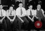 Image of blind bowlers New York City USA, 1936, second 11 stock footage video 65675053234