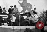 Image of Presidential candidate Wendell Willkie on the campaign trail Bloomington Illinois USA, 1940, second 4 stock footage video 65675053248