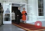 Image of President elect Ronald Reagan Washington DC USA, 1981, second 11 stock footage video 65675053261