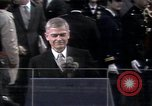 Image of President elect Ronald Reagan Washington DC USA, 1981, second 1 stock footage video 65675053262