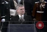Image of President elect Ronald Reagan Washington DC USA, 1981, second 10 stock footage video 65675053262