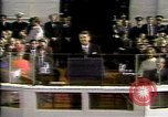 Image of President Ronald Reagan Washington DC USA, 1981, second 9 stock footage video 65675053268