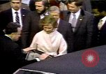 Image of President Ronald Reagan Washington DC USA, 1981, second 1 stock footage video 65675053270