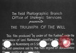 Image of Triumph of the Will Nuremberg Germany, 1934, second 3 stock footage video 65675053272