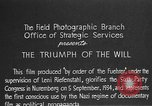 Image of Triumph of the Will Nuremberg Germany, 1934, second 4 stock footage video 65675053272