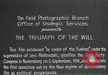 Image of Triumph of the Will Nuremberg Germany, 1934, second 12 stock footage video 65675053272