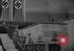 Image of Fuhrer Adolf Hitler at sixth Nazi Party Congress Nuremberg Germany, 1934, second 3 stock footage video 65675053277