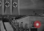 Image of Fuhrer Adolf Hitler at sixth Nazi Party Congress Nuremberg Germany, 1934, second 4 stock footage video 65675053277