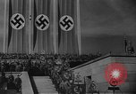 Image of Fuhrer Adolf Hitler at sixth Nazi Party Congress Nuremberg Germany, 1934, second 6 stock footage video 65675053277