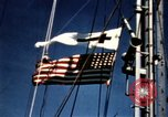 Image of Navy burial at sea Pacific Ocean, 1944, second 12 stock footage video 65675053282
