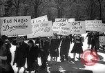 Image of American Peace Mobilization anti-war march in World War 2 Washington DC USA, 1941, second 3 stock footage video 65675053289